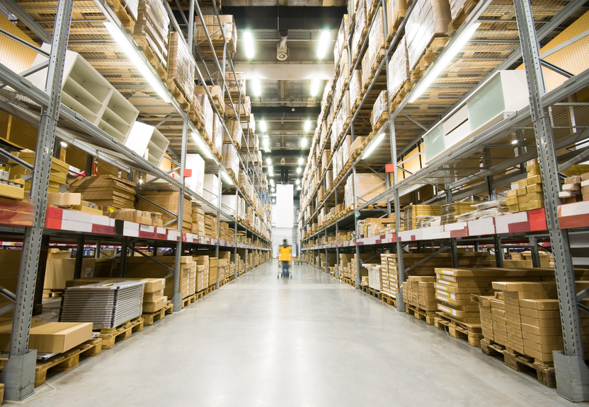 Warehousing plays an important role in logistics